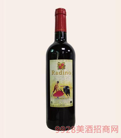 西班牙雷迪诺干红葡萄酒12度750ml