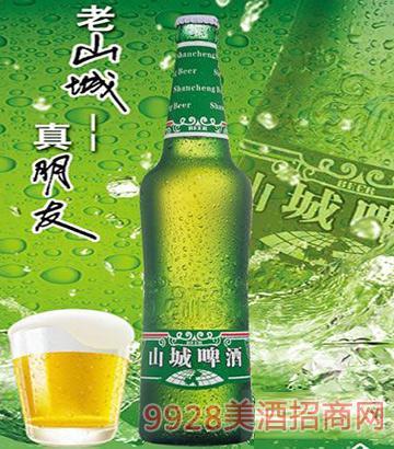 老山城啤酒9.5°486ml