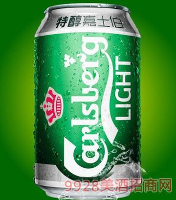 嘉士伯啤酒易拉罐啤酒330ml