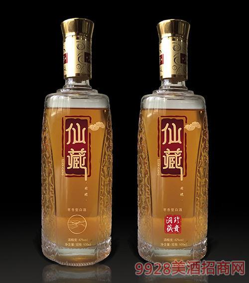 仙藏酒枣香型白酒(概念版)42度500ml枣香型白酒