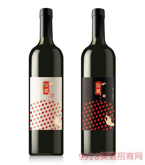 仙藏红枣醋饮750ml