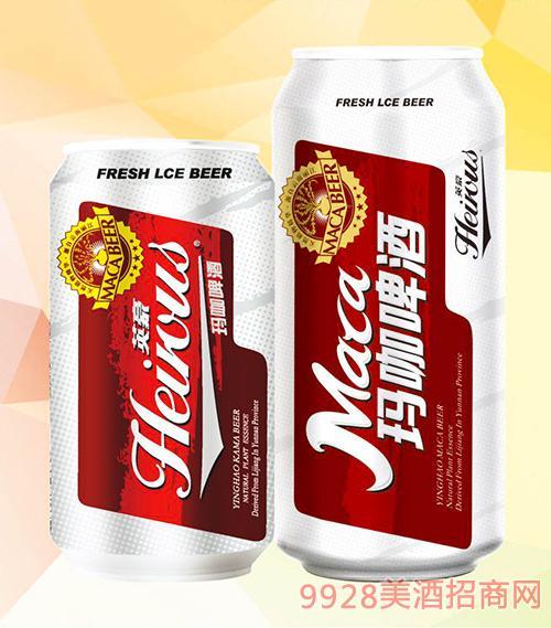 英豪瑪咖啤酒罐裝330ml 500ml