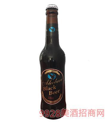 330ml艾利克黑啤(百威瓶)