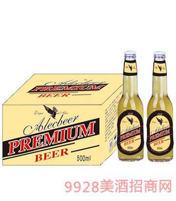 500ML艾利客啤酒黄啤