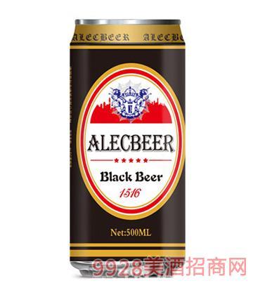 艾利克啤酒黑啤500ML