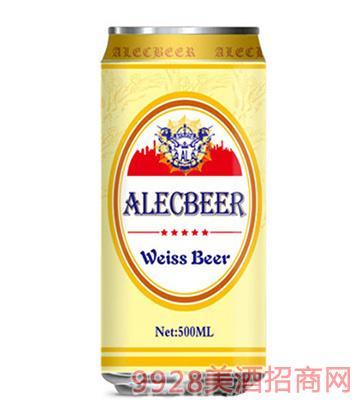 艾利客啤酒白啤500ml