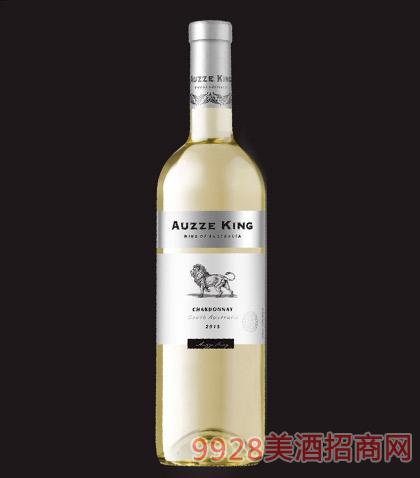 澳洲王霞多丽干白葡萄酒2015-12度750ml