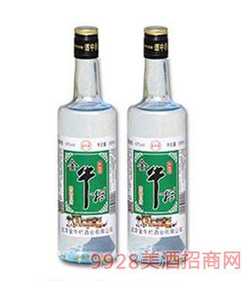 金牛拦陈酿白酒42度500mlx12瓶