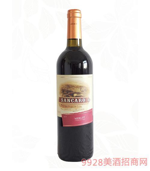圣卡罗美乐干红葡萄酒