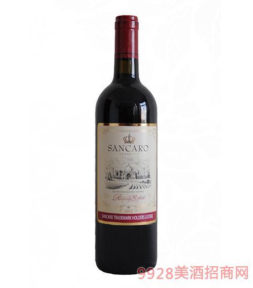 圣卡罗西拉干红葡萄酒750ml