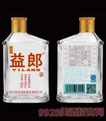 四川贵宾益郎酒浓酱香型45度100ml