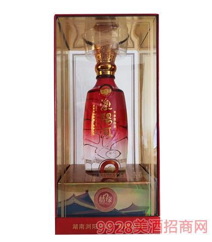 浏阳河酒情缘500ml浓香型