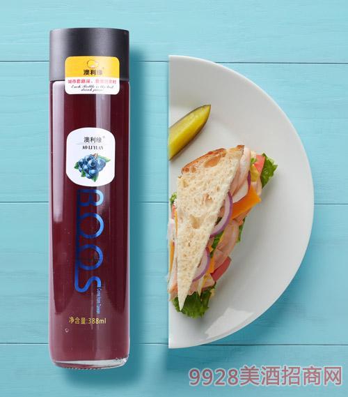 澳利缘果汁-蓝莓味388ml