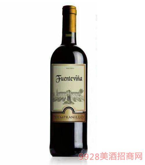 西班牙维纳干红葡萄酒12度750ml