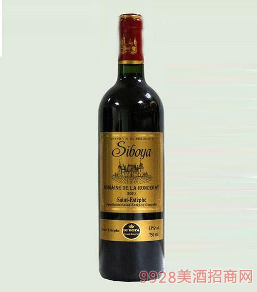 法国思博雅吉瑞城堡干红葡萄酒13度750ml