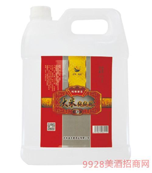 大米纯纯粮C13 42度4L