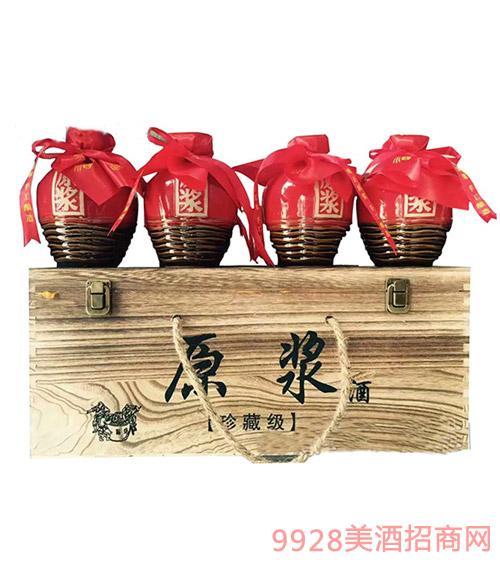 安徽金酒福原浆酒珍藏版浓香型酒