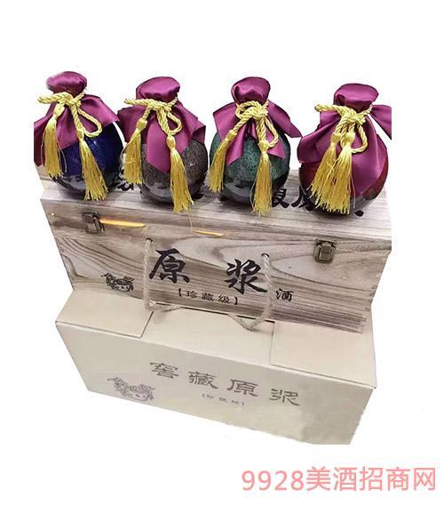 安徽金酒福原浆珍藏版坛装浓香型酒