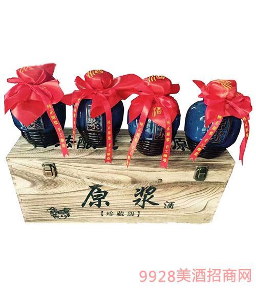 安徽金酒福珍藏版小坛浓香型酒