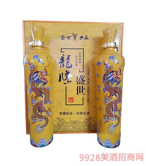 安徽金酒福龙腾盛世礼盒