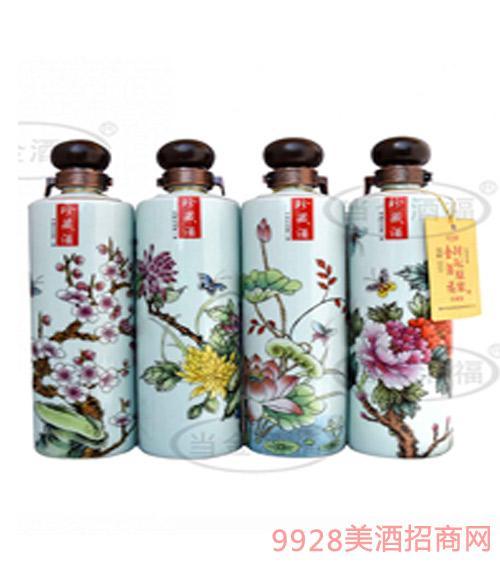 金酒福春夏秋冬酒