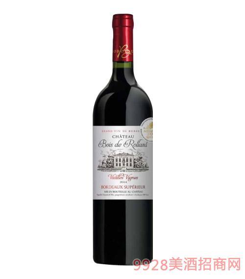 法国布瓦罗兰庄园优波尔多葡萄酒750ml