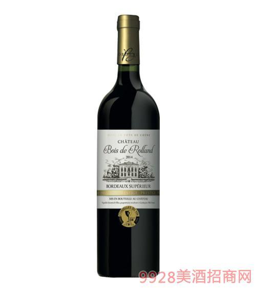 法国布瓦罗兰庄园高波尔多葡萄酒750ml