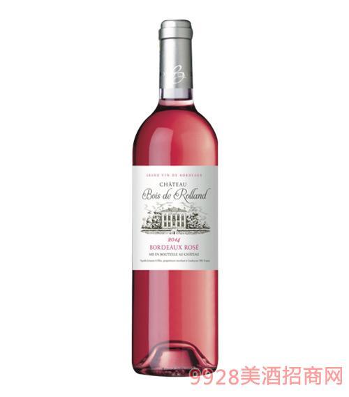 法国布瓦罗兰庄园波尔多桃红葡萄酒750ml