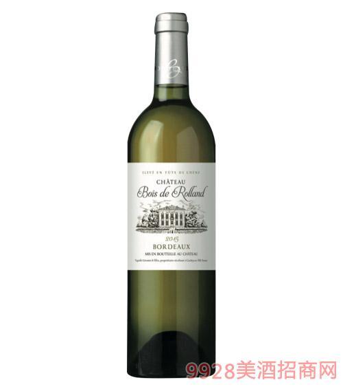 法国布瓦罗兰庄园波尔多白干葡萄酒750ml