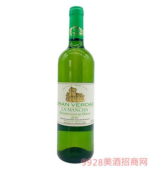 西班牙堂吉诃德真理干白葡萄酒11.5度750ml