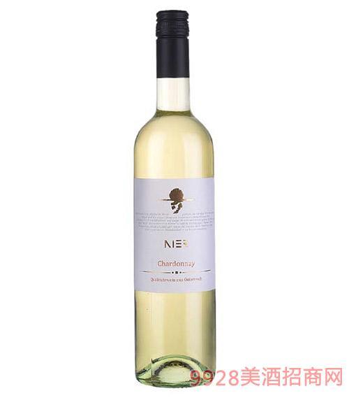 奥地利霞多丽干白葡萄酒12度750ml
