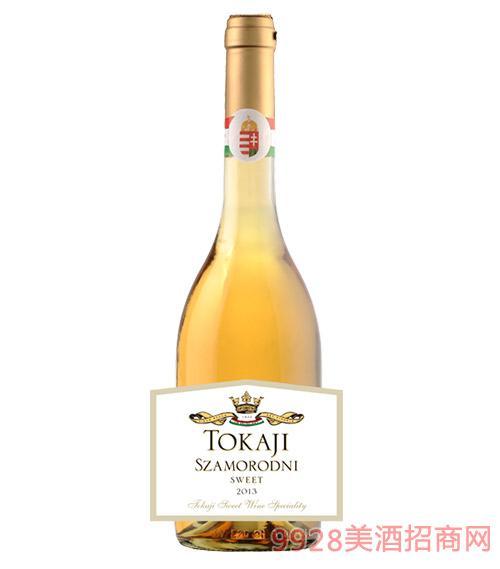 匈牙利托卡伊贵腐甜白葡萄酒12度750ml