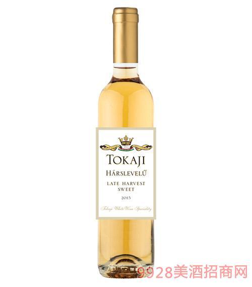 匈牙利托卡伊晚收甜白葡萄酒10度750ml