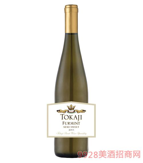 匈牙利托卡伊富民特半甜白葡萄酒9.5度750ml