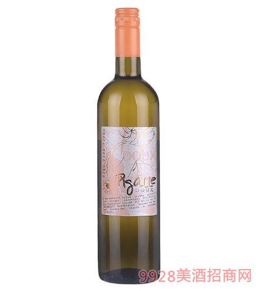 匈牙利皮嘉儿甜白葡萄酒11度750ml