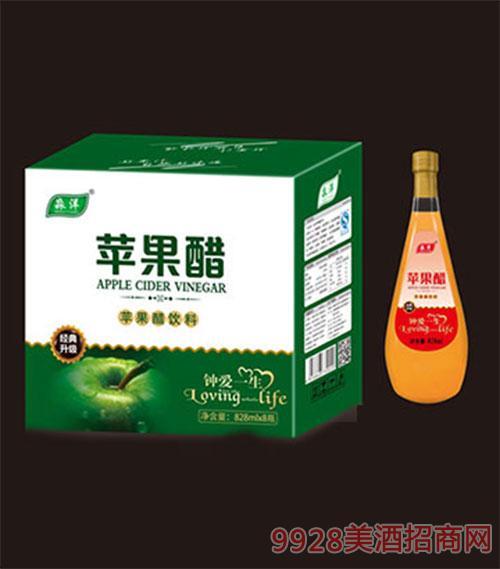 苹果醋饮料钟爱一生828mlx8瓶