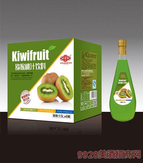 猕猴桃汁饮料1.5Lx6瓶