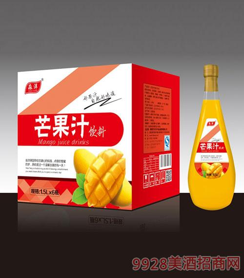 芒果汁汁饮料1.5Lx6瓶