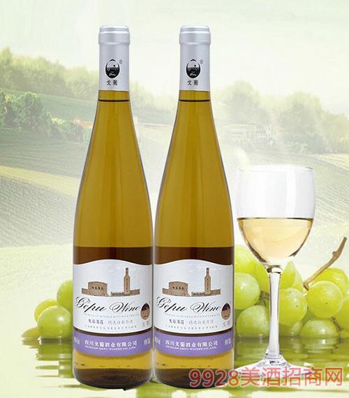 戈葡优质白葡萄酒14度750ml