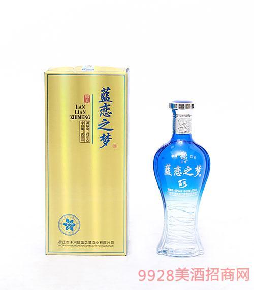 绵柔蓝恋之梦酒42度500ml