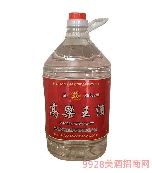 高粱王酒38度5L