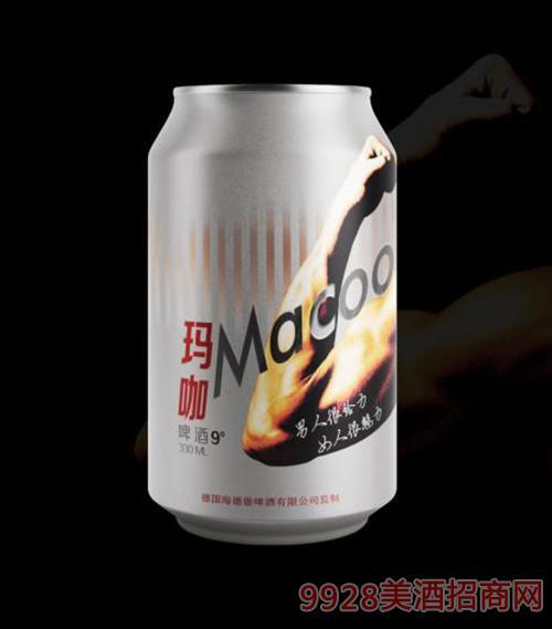 Macoo玛咖啤酒9度330ml