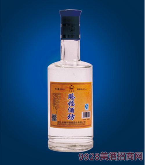 赐福酒坊浓香型酒42度480ml