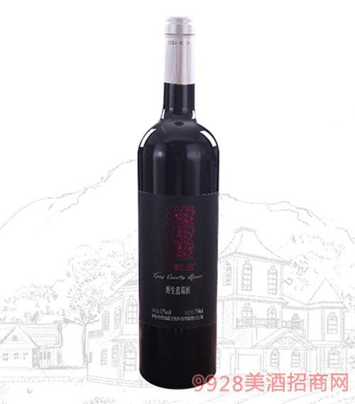 康郡庄园野生蓝莓酒半干型11度750ml