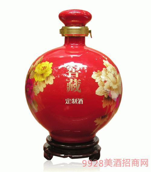 窖藏红瓷定制酒