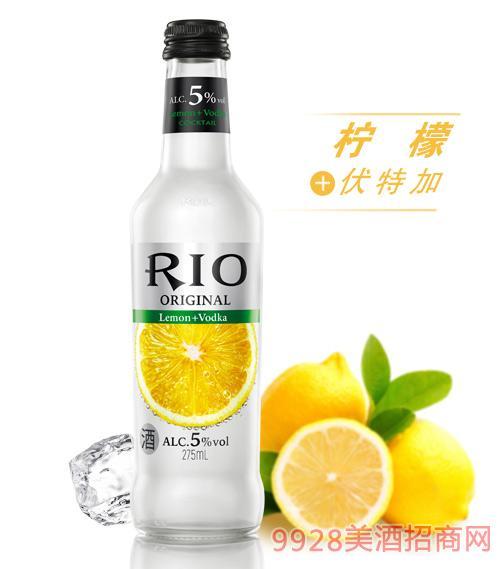 锐澳鸡尾酒5度本味鸡尾酒275ml柠檬味