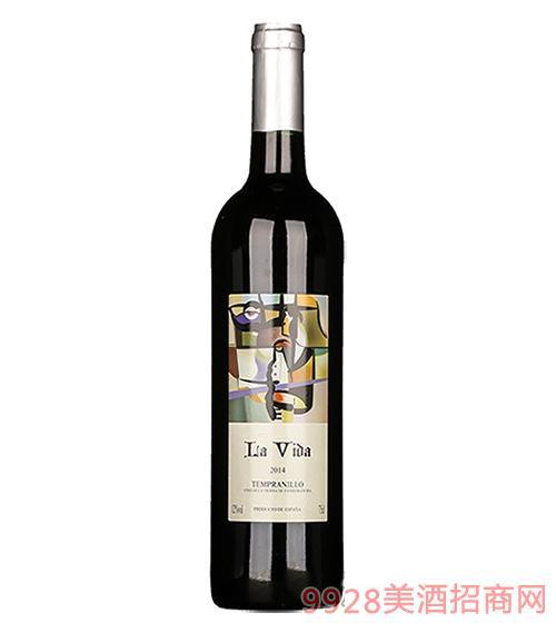 西班牙生命之歌干红葡萄酒