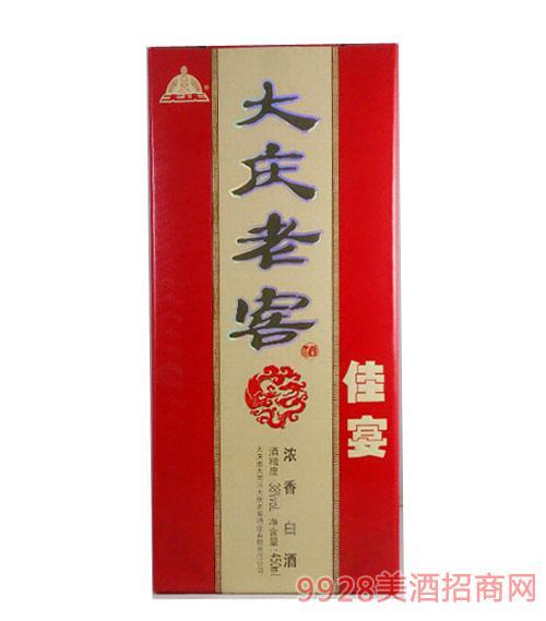 38度大庆老窖酒-佳宴浓香型450ml