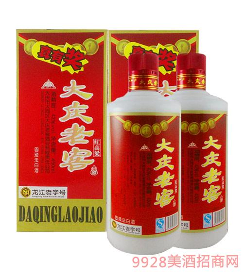 42度大庆老窖红高粱酒浓香型450ml