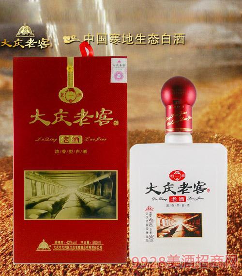 42度大庆老窖酒-一品老酒浓香型500ml